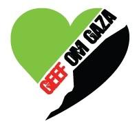 Geef om Gaza logo